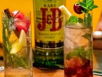 J&B Rare whisky hard seltzers