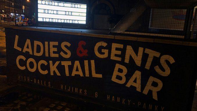Ladies & Gentlemen Willow bar