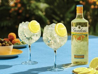 Gordon's Sicilian lemon flavoured gin