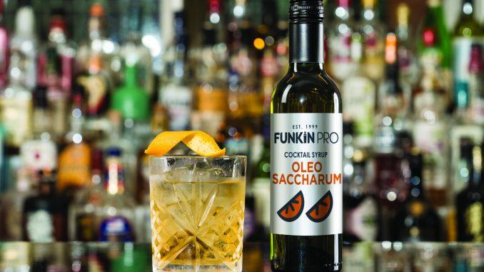 Funkin Oleo Saccharum punch cocktails