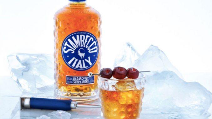 Stambecco Amaro maraschino cherries drink