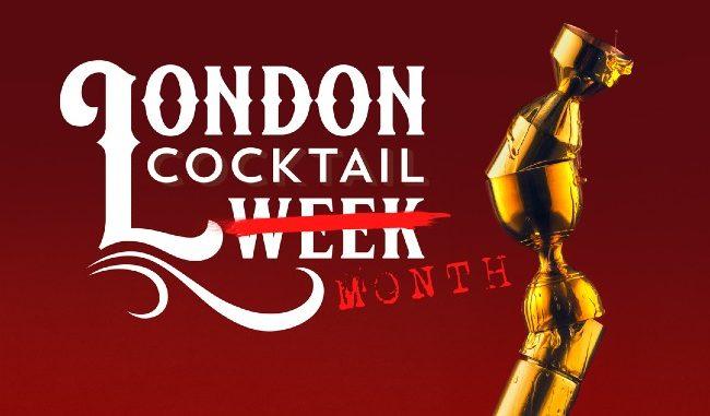 London Cocktail Week Resilience trade logo 2021